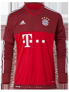 Trikot FC Bayern Ausweich Torwart