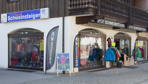 Sport Schweinsteiger: mitten in Oberaudorf gelegen