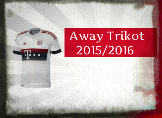 Fc Bayern Away Trikot 15-16